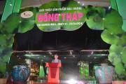 Tái hiện như góc chợ quê Đồng Tháp tại TP.HCM