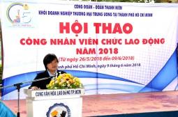 Gần 500 VĐV tham gia Hội thao khối doanh nghiệp TM Trung ương tại TP.HCM