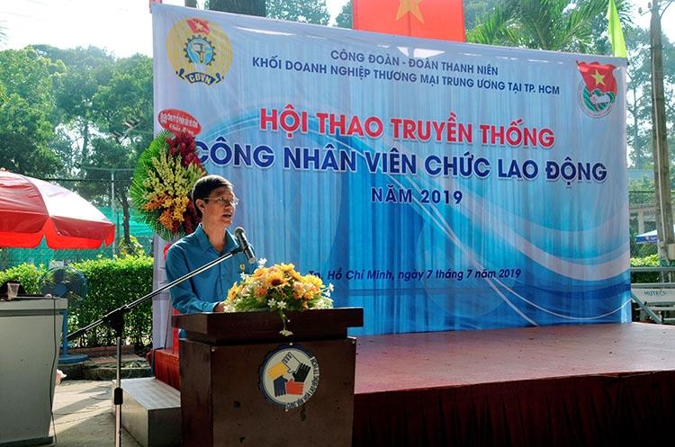 467 vdv khoi dn tm tw tai tphcm tham gia hoi thao cong nhan vien chuc lao dong