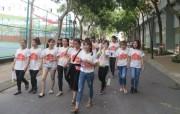 6.000 sinh viên Đại học Tôn Đức Thắng đi bộ gây quỹ từ thiện