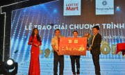 Lotte Mart trao thưởng căn nhà 1,5 tỷ đồng cho khách hàng