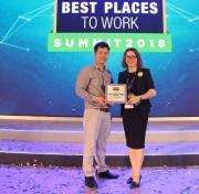 LOTTE Mart xếp thứ 56/100 DN có môi trường làm việc tốt nhất Việt Nam 2017