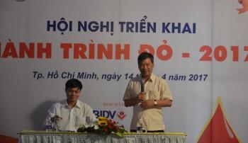 hanh trinh do 2017 van dong khoang 40000 nguoi tham gia hien mau
