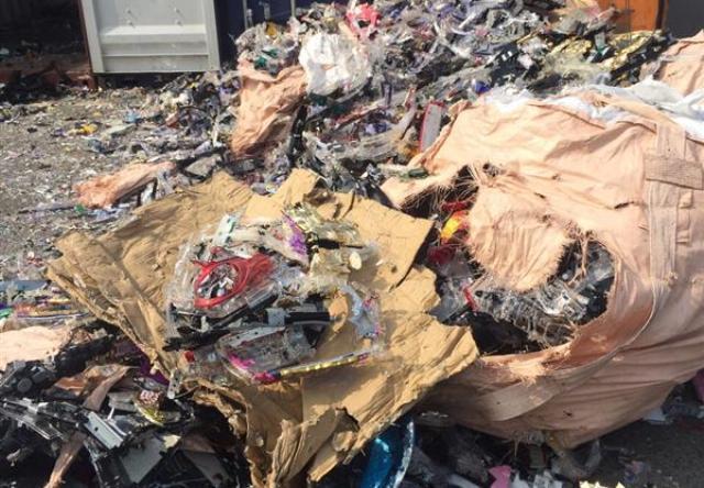 """Bà Rịa - Vũng Tàu: Phát hiện hai container """"rác' điện tử nhập khẩu trái phép"""