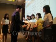 Lotte Mart Việt Nam trao học bổng cho 48 sinh viên TP. Hồ Chí MInh