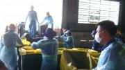 TP.Hồ Chí Minh tổ chức tiêu hủy gần 14.000 kg nầm heo có nguồn gốc từ Trung Quốc