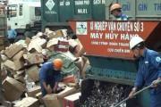 TP. Hồ Chí Minh tiêu hủy số lượng lớn hàng hóa kinh doanh trái phép