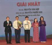 EVN SPC đoạt giải nhất cuộc thi 'Sáng kiến vì cộng đồng'