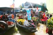 Tôn vinh vẻ đẹp văn hóa và thương mại của chợ nổi Cái Răng