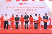 Công ty TNHH 3M Việt Nam khánh thành nhà máy mới tại Đồng Nai