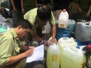 TP. Hồ Chí Minh phát hiện nhiều vụ kinh doanh hóa chất sai phạm