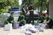 Thuốc lá lậu tuồn vào Việt Nam chưa có điểm dừng