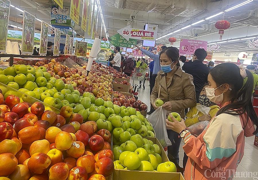 Nghệ An hàng hoá dồi dào, giá cả ổn định trong cao điểm chống dịch đón Tết