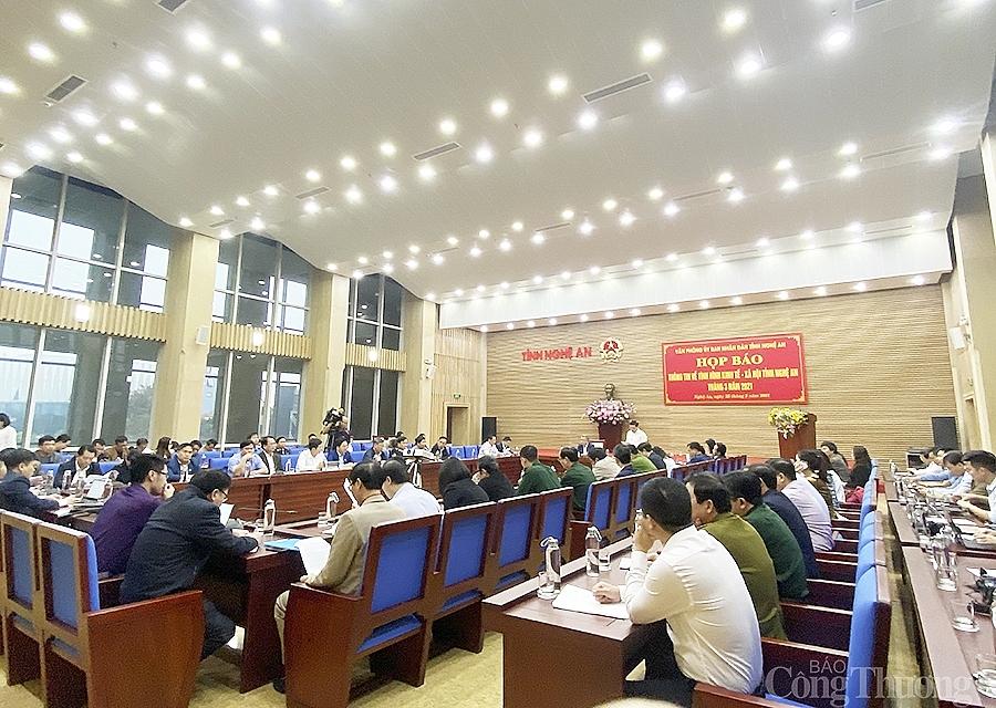Nghệ An: Chỉ số công nghiệp 3 tháng đầu năm tăng 21,27 %