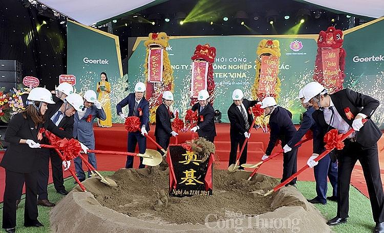 Nhiều doanh nghiệp nước ngoài muốn dịch chuyển sản xuất tới Nghệ An