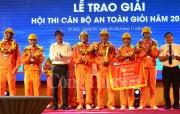 Hội thi Cán bộ an toàn giỏi ngành điện miền Bắc - Cúp vàng về PC Nam Định