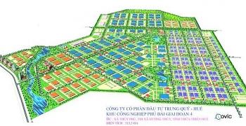 Thừa Thiên Huế: Có thêm khu công nghiệp rộng hơn 460ha