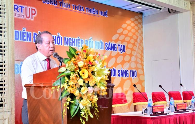 thua thien hue to chuc dien dan khoi nghiep doi moi sang tao 2019