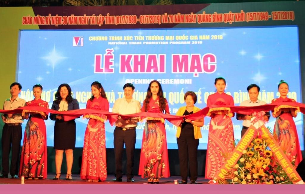 quang binh khai mac hoi cho cong nghiep va thuong mai quoc te 2019