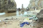 Quảng Bình: Bãi tắm Đá Nhảy tràn ngập rác thải