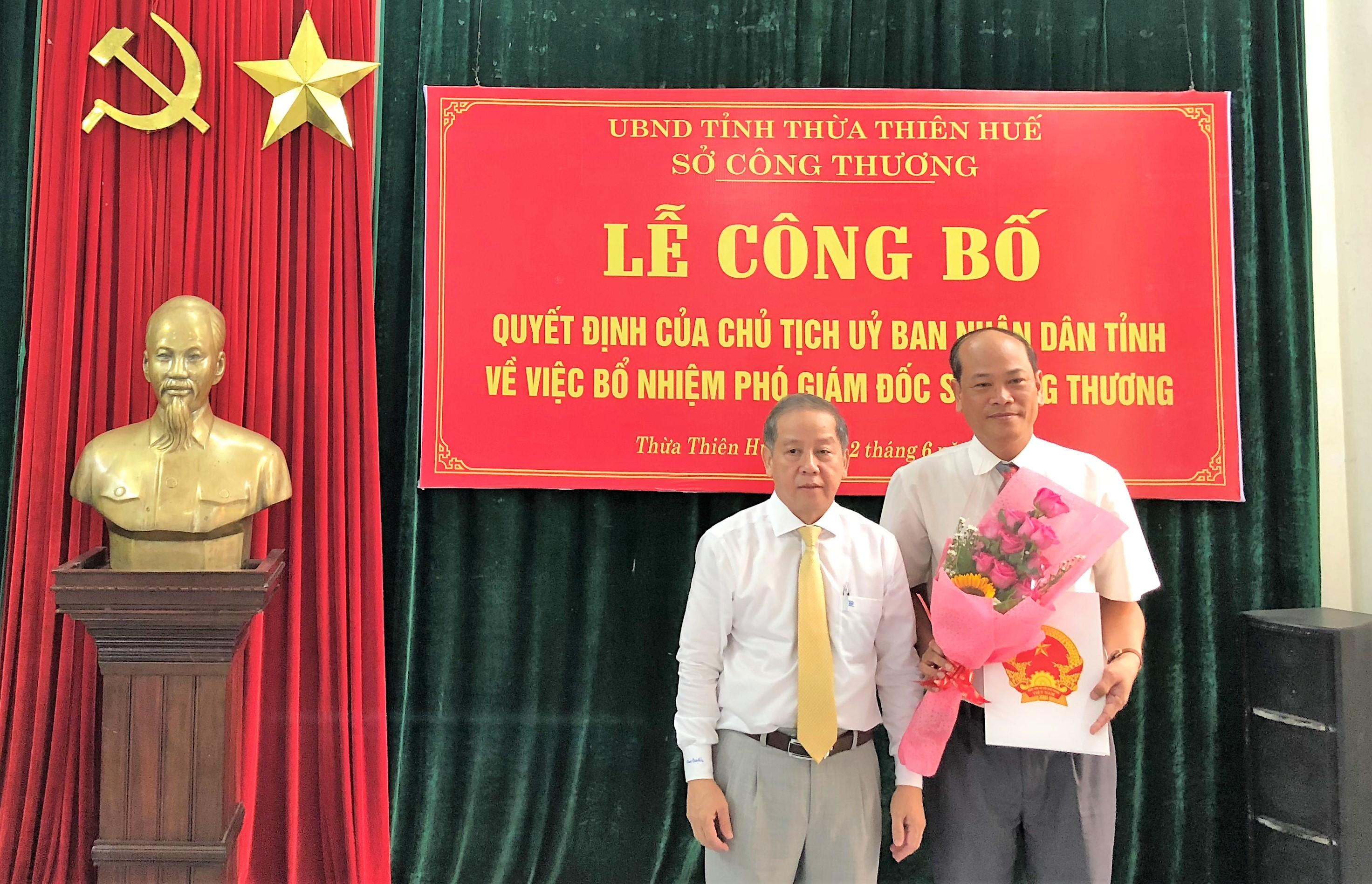 Thừa Thiên Huế: Bổ nhiệm Phó Giám đốc Sở Công Thương thông qua thi tuyển
