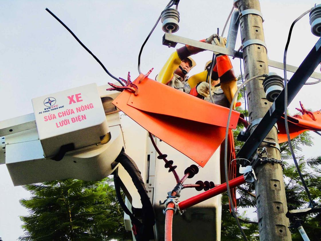 PC Thừa Thiên Huế chủ động trong việc chống quá tải mùa nắng nóng