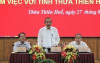 pho thu tuong thuong truc chinh phu lam viec tai thua thien hue