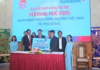 thua thien hue vietinbank tai tro 1 ty dong cho festival hue 2020