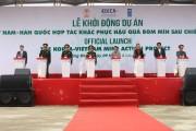 Việt Nam - Hàn Quốc chung tay khắc phục hậu quả bom mìn sau chiến tranh