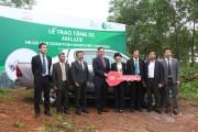 Toyota Việt Nam trao tặng xe ô tô hỗ trợ bảo tồn thiên nhiên tại Quảng Bình