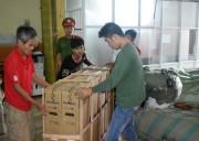 Thừa Thiên Huế: Bắt giữ nhiều hàng hóa điện tử không rõ nguồn gốc