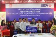 BIDV – Nhà tài trợ đồng Festival Huế 2018