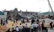 Thừa Thiên Huế: Gần 200m2 sàn bê tông đổ sập khi xây dựng cây xăng