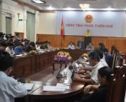 Thừa Thiên Huế: Vận hành hồ chứa linh hoạt ứng phó bão số 13