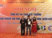 Thừa Thiên Huế: 6 đề tài được trao giải thưởng khởi nghiệp sáng tạo