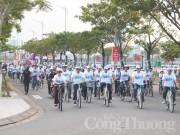 Đà Nẵng đạp xe hưởng ứng chiến dịch Giờ Trái đất 2018