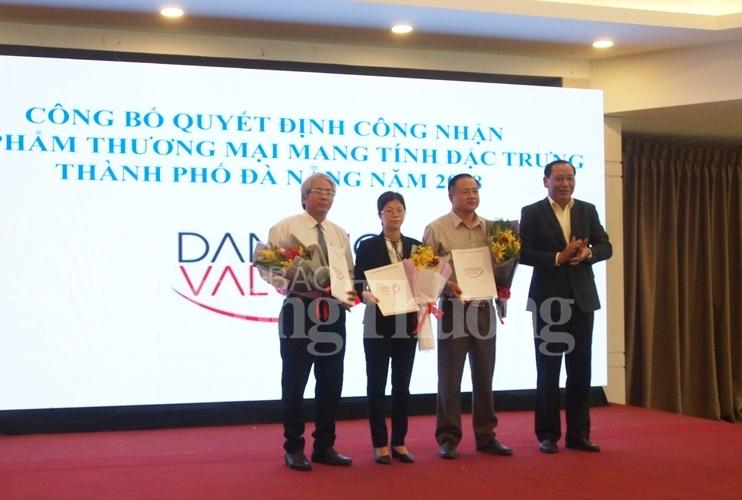 trao chung nhan san pham thuong mai mang tinh dac trung cua da nang nam 2018