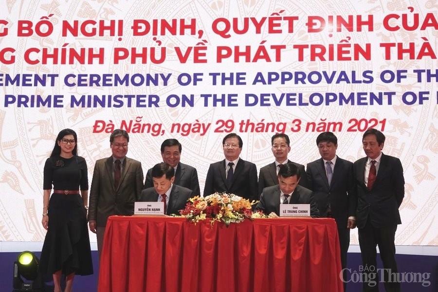 Phó Thủ tướng Trịnh Đình Dũng: Các Nghị định, Quyết định sẽ tạo bước đột phá, tạo động lực phát triển TP. Đà Nẵng