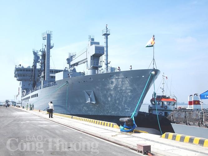 3 tàu Hải quân Ấn Độ thăm TP. Đà Nẵng