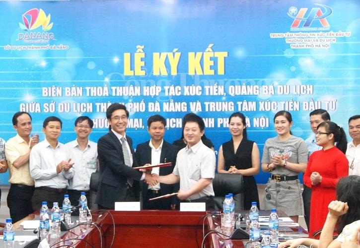 """Đà Nẵng và Hà Nội """"bắt tay"""" hợp tác xúc tiến, quảng bá du lịch"""