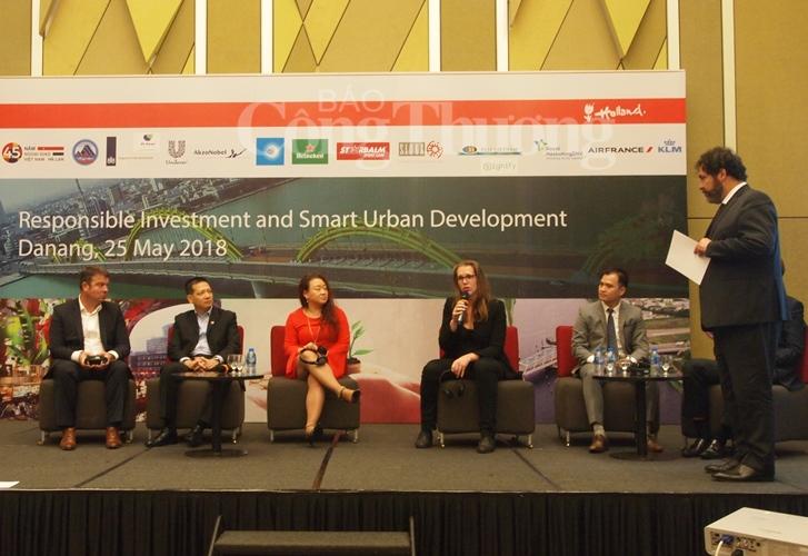 Đà Nẵng hướng đến đầu tư có trách nhiệm và phát triển đô thị thông minh