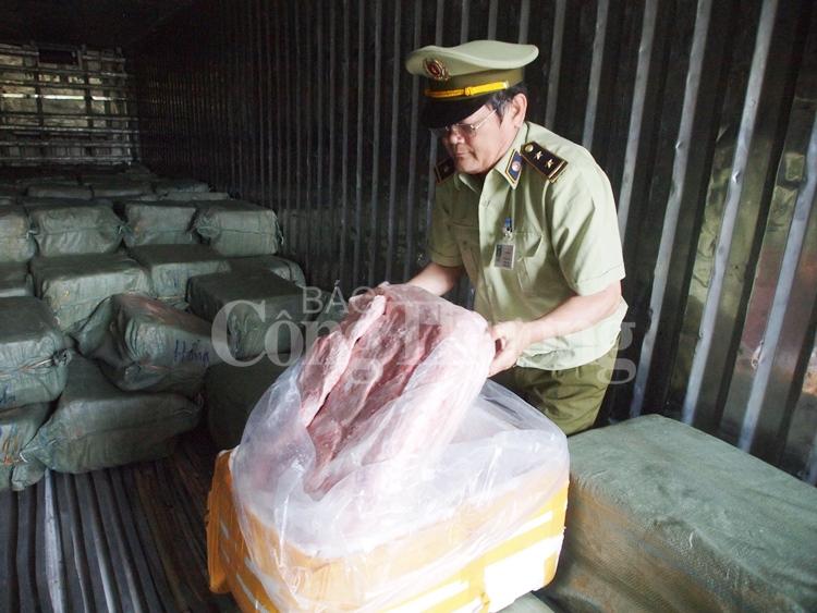 Đà Nẵng: Phát hiện hơn 6,5 tấn thịt động vật không rõ nguồn gốc
