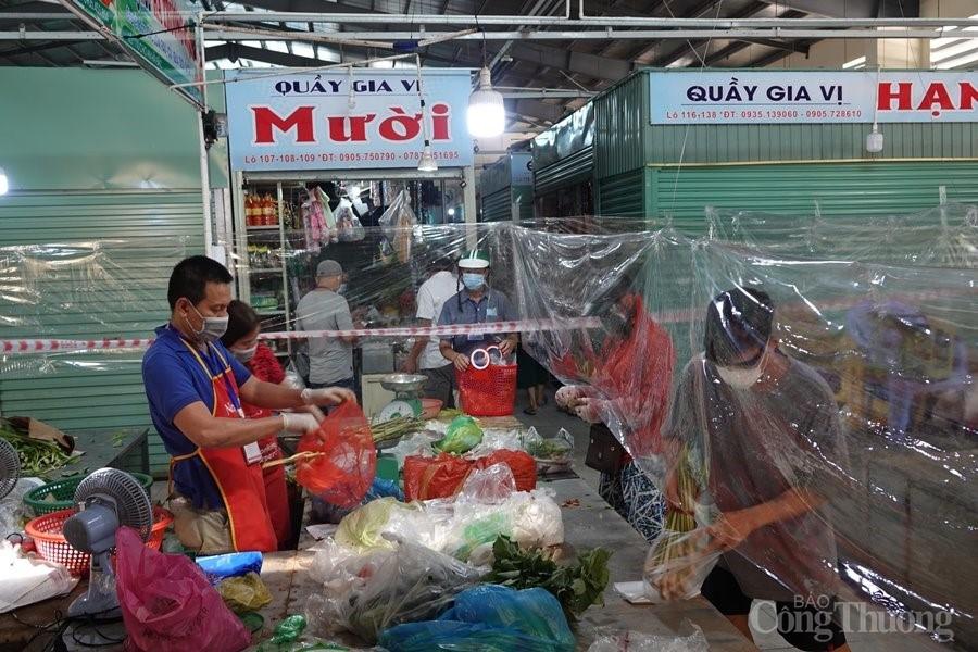 Đà Nẵng: Nhiều chợ truyền thống đã mở cửa trở lại và đảm bảo phòng chống dịch Covid 19