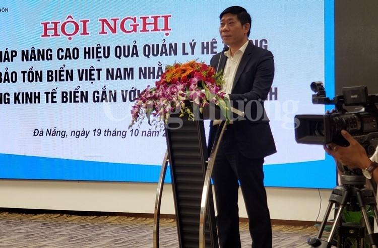 phat trien du lich khai thac thuy san phai gan voi cong tac bao ton bien