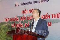 tap huan boi duong kien thuc bien dao cho doi ngu can bo phong vien bien tap vien