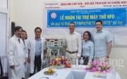 Trao tặng máy thở cao tần HFO cho Bệnh viện Phụ sản Nhi Đà Nẵng