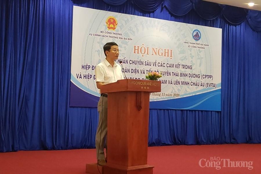 Đà Nẵng: Hỗ trợ doanh nghiệp tận dụng tốt cơ hội từ CPTPP, EVFTA
