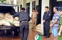 quang nam phat hien xe tai nghi van chuyen hon 600kg chat doc cyanua