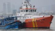 Đà Nẵng: Tàu SAR 412 lai dắt tàu cá bị nạn với 11 lao động về bờ an toàn
