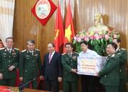 Thủ tướng Chính Phủ thăm, chúc  Tết Bộ Tư lệnh Quân khu 5